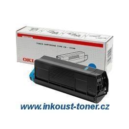 Modrý toner do OKI C5650 a C5750 originál