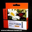 cartridge EPSON T1292 modrá - kompatibilní
