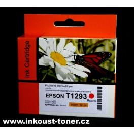 cartridge EPSON T1293 červená - kompatibilní