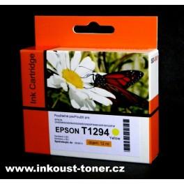 cartridge EPSON T1294 žlutá - kompatibilní
