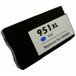 Cartridge HP 951XL - modrá velká, CN046AE - kompatibilní