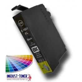 cartridge EPSON T1631 XL černá - kompatibilní, 15 ml