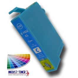 cartridge EPSON T1632 XL modrá - kompatibilní, 16 ml