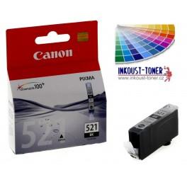 Canon CLI-521BK cartridge černá - originální