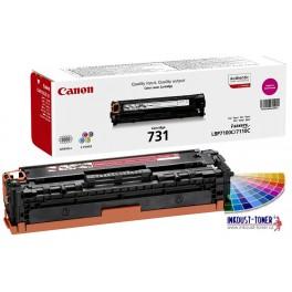 toner Canon CRG-731M, červený (purpurový), originál