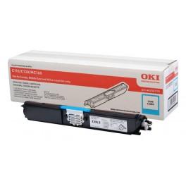 toner OKI C110 a C130n modrý - originál