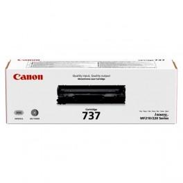 toner Canon CRG-737 Bk černý, originální