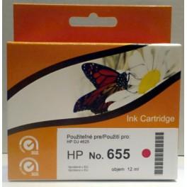 HP 655 (CZ111AE) cartridge červená - kompatibilní, čip