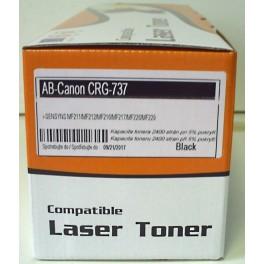 toner Canon CRG-737 Bk černý, kompatibilní