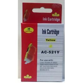 Canon CLI-521Y cartridge žlutá - kompatibilní