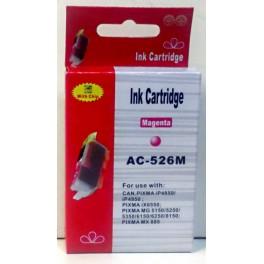 Canon CLI-526M cartridge červená - kompatibilní (AB)