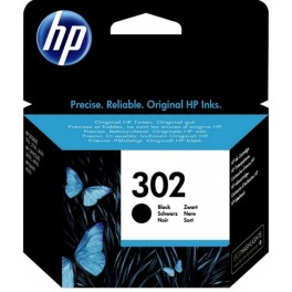 HP 302 Cartridge černá, F6U66AE - originál