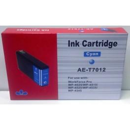 cartridge EPSON T7012 modrá XXL - kompatibilní