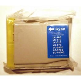 cartridge Brother LC1000 / LC970 azurová kompatibilní - InkTec