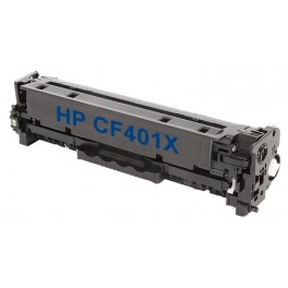 Toner kompatibilní s HP CF401X (HP201X) modrá