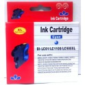 cartridge LC-1100C / LC-980C modrá pro Brother - kompatibilní