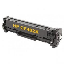 Toner kompatibilní s HP CF402X (HP201X) žlutá