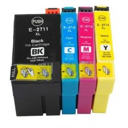 sada kazet T2711-14 (27XXL) kompatibilní pro EPSON