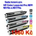 sada tonerů pro HP Color LaserJet M176 a M177 - kompatibilní