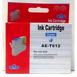 cartridge T0612 modrá pro Epson - kompatibilní