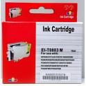 Cartridge Epson T0803 červená Pigment - kompatibilní