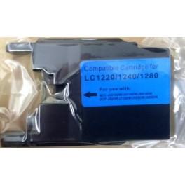 cartridge Brother LC-1280C modrá kompatibilní