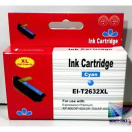 cartridge EPSON T2632 (26XL) modrá - kompatibilní AB