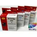sada kazet HP 940 XL - 4 kompatibilní kazety (AB)