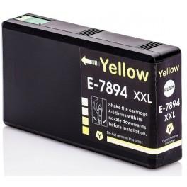 cartridge EPSON T7894 (XXL) žlutá - kompatibilní AB