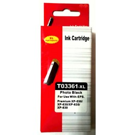 Epson 33XL (T3361 XL) černá foto, kompatibilní