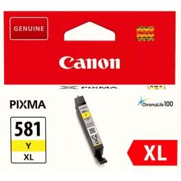 Canon CLI-581XL Y žlutá - originální
