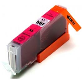 Canon CLI-551XL M cartridge červená - kompatibilní, čip