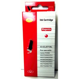 Canon CLI-571 M XL červená velká - kompatibilní