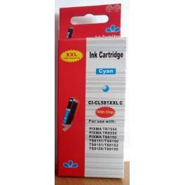 Canon CLI-581XXL C azurová (modrá) - kompatibilní