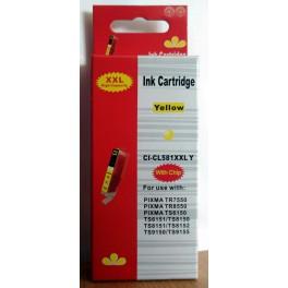 Canon CLI-581XXL Y žlutá - kompatibilní